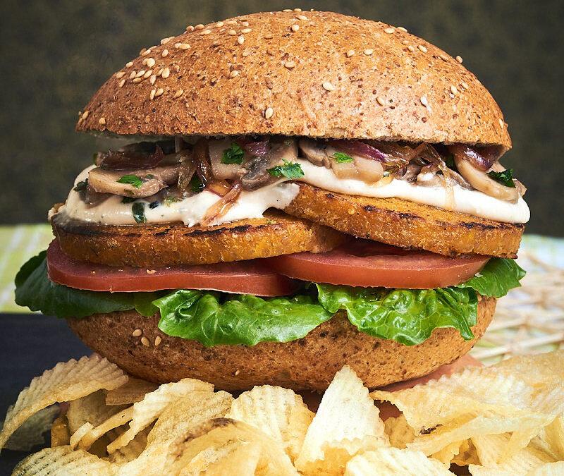 Cordon Green burger