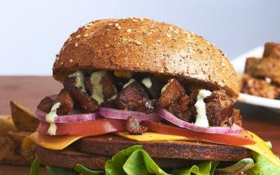 Vegan ranch burger