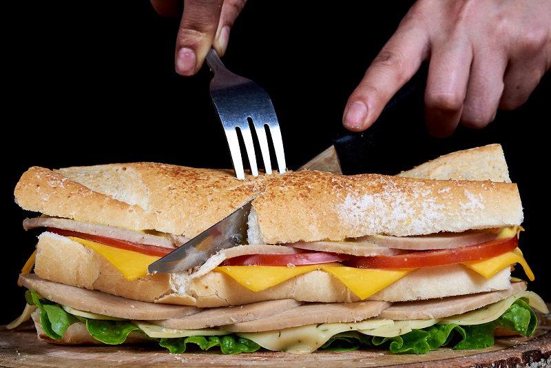 Traditional sandwich