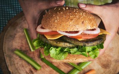 Hamburguesa clásica vegana