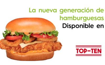 Nueva Crispy Green Burger en Top Ten