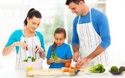 8 Formas de Crear Hábitos Saludables en tus Hijos